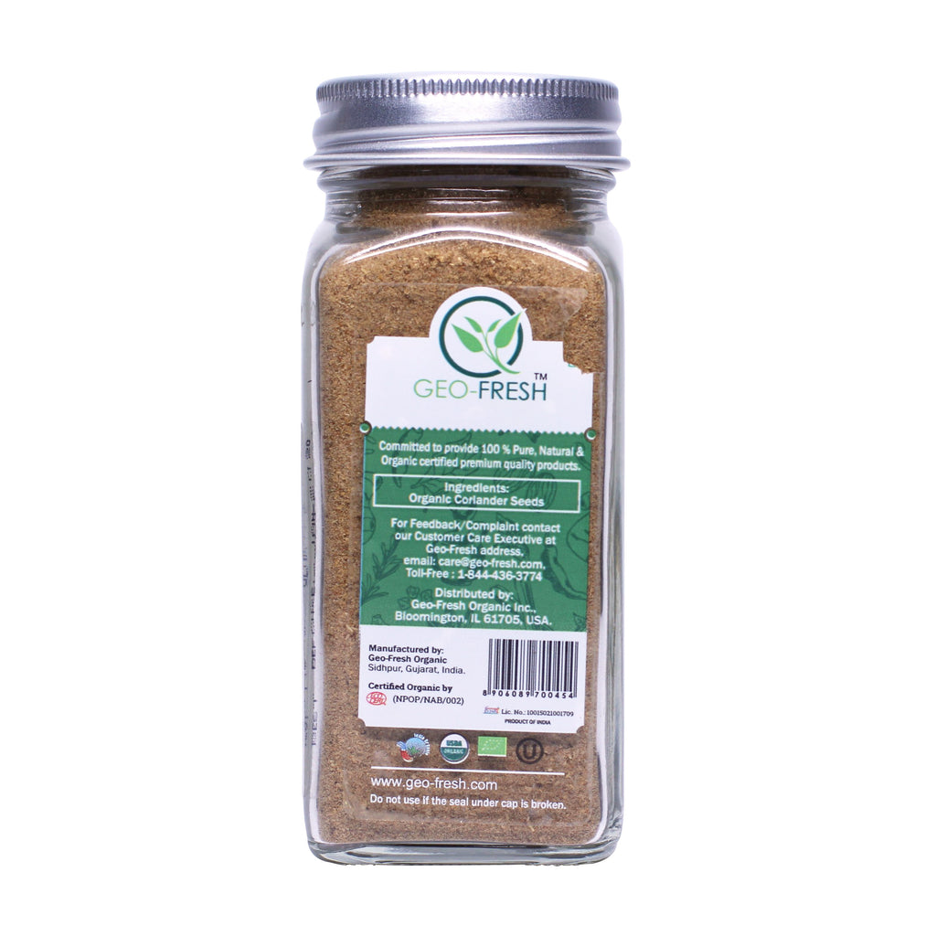 Geo-Fresh Organic Coriander Powder 1.76 oz