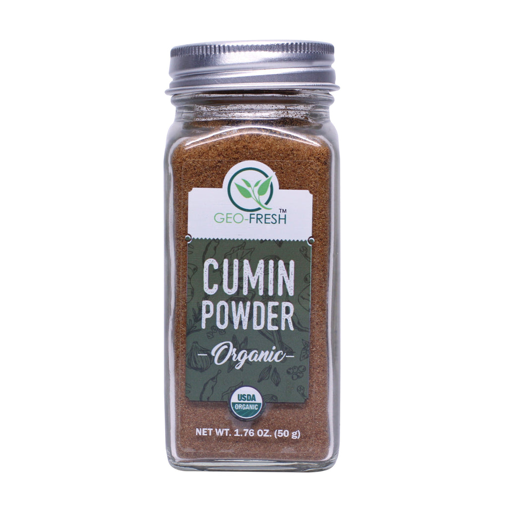 Geo-Fresh Organic Cumin Powder 1.76 oz