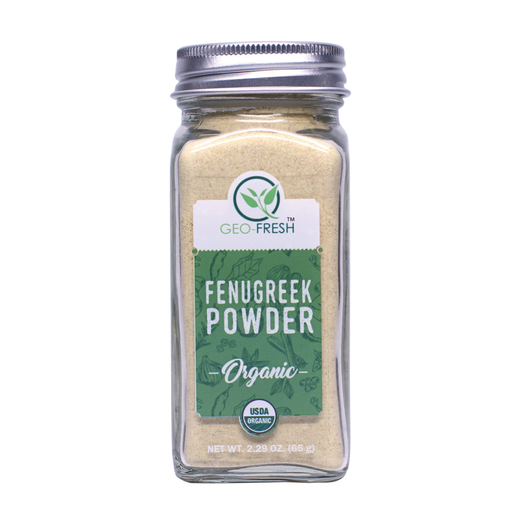 Geo-Fresh Organic Fenugreek Powder 2.29 oz