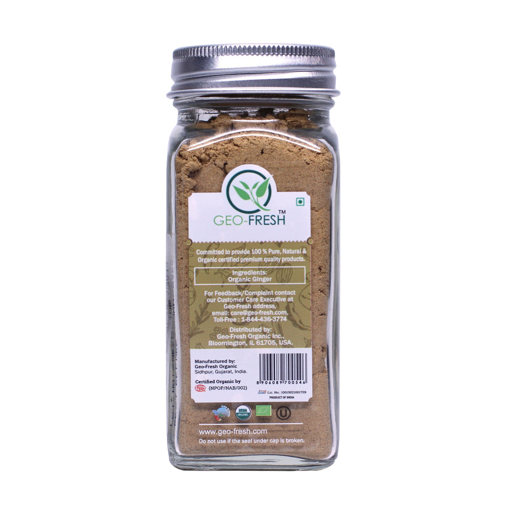 Geo-Fresh Organic Ginger Root Powder 1.58 oz