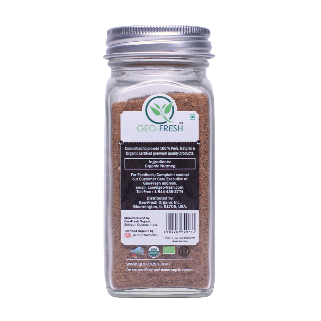 Geo-Fresh Organic Nutmeg Powder 1.76 oz