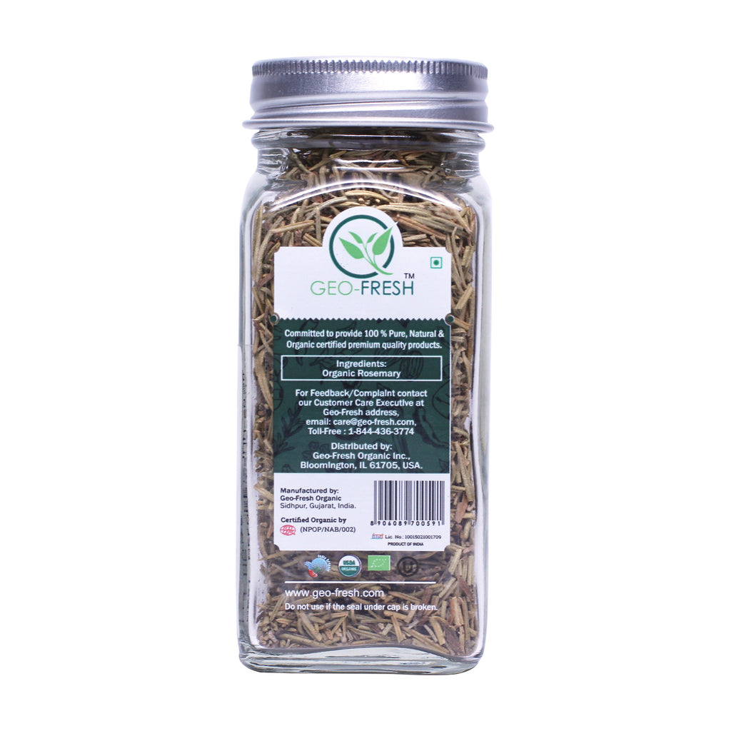 Geo-Fresh Organic Rosemary .88 oz
