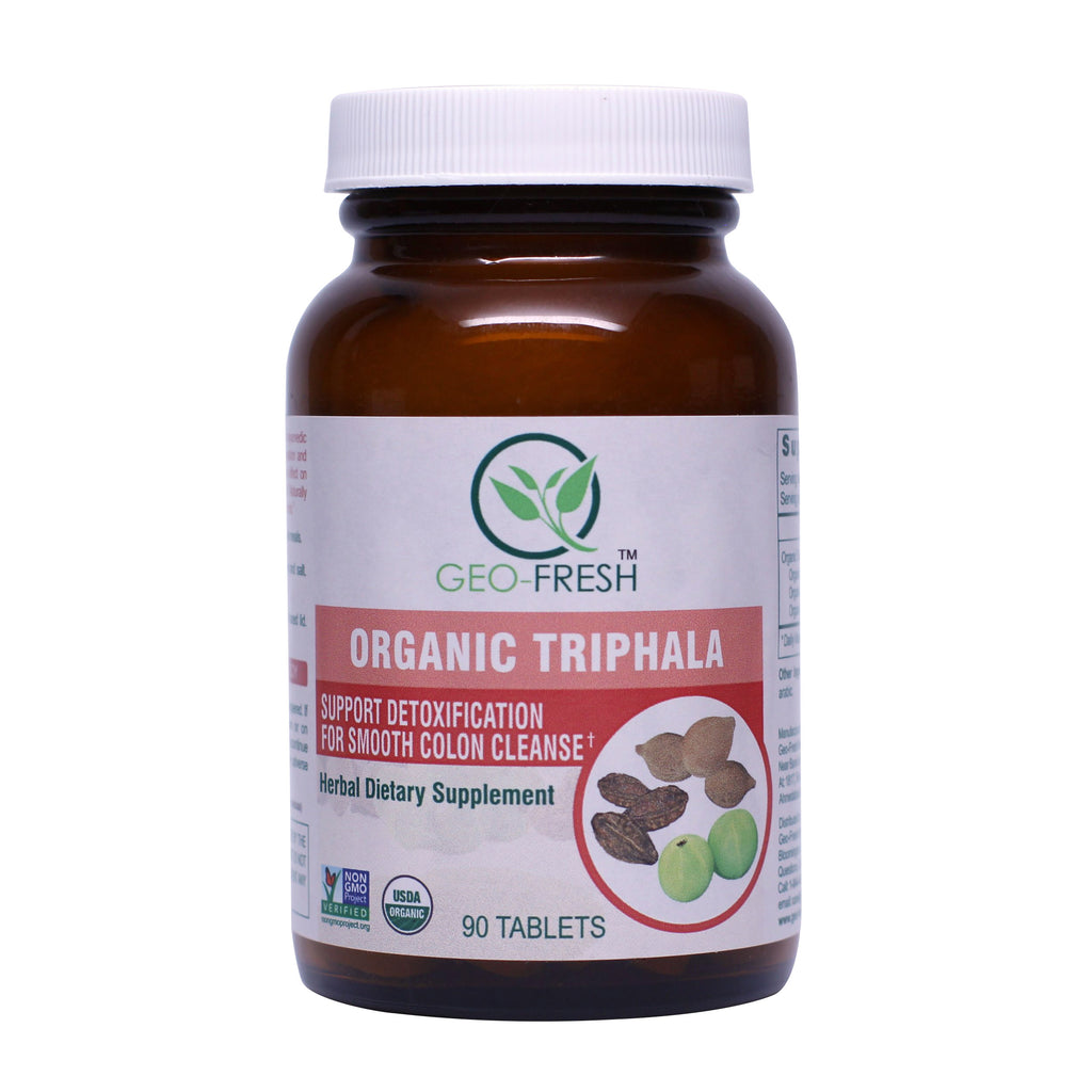 Geo-Fresh Organic Triphala Tablets 90 Count