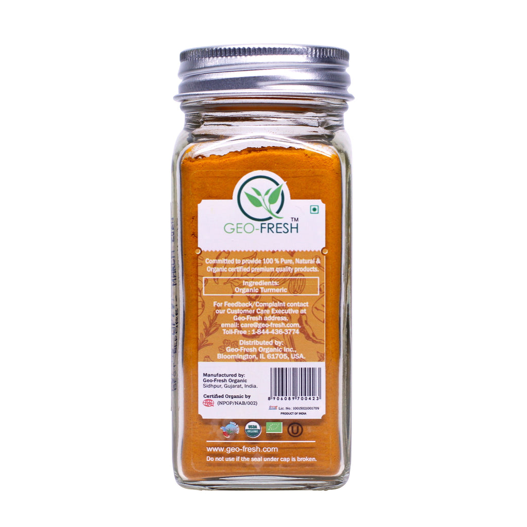 Geo-Fresh Organic Turmeric Root Powder 2.11 oz