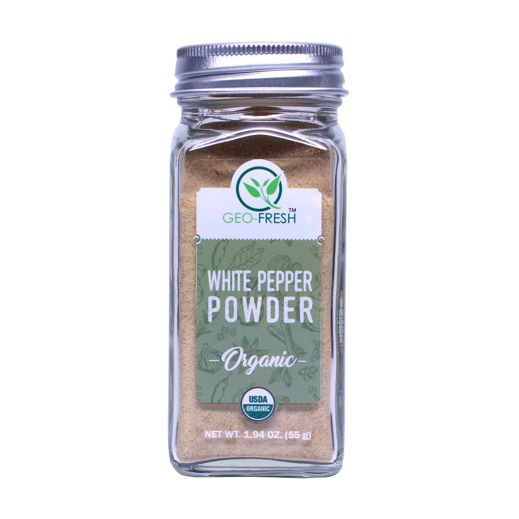 Geo-Fresh White Pepper Powder 1.94 oz