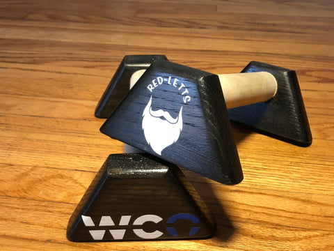 WCO Solid Hard Wood Paralletts