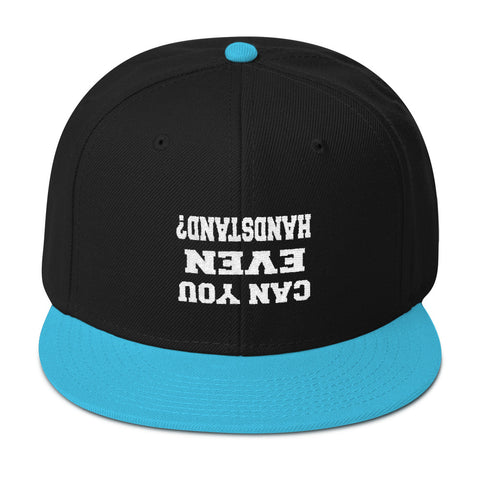 "Official ""Can You Even Handstand"" Snapback"