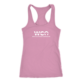 WCO - CAN YOU EVEN HANDSTAND FEMALE RACERBACK TANK