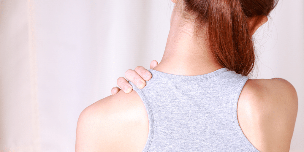 Which body oil is best for massaging shoulder aches?