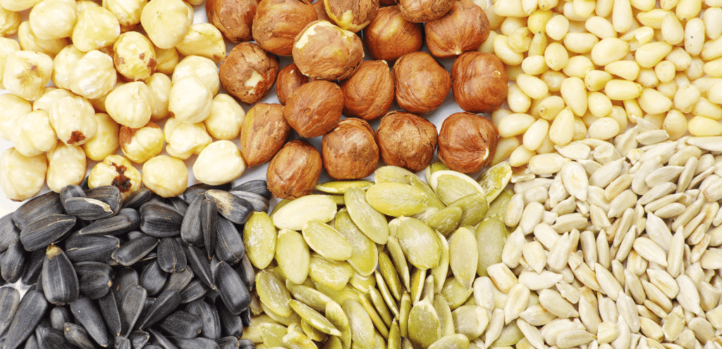 Nuts and seeds for clear skin Evolve Organic Beauty