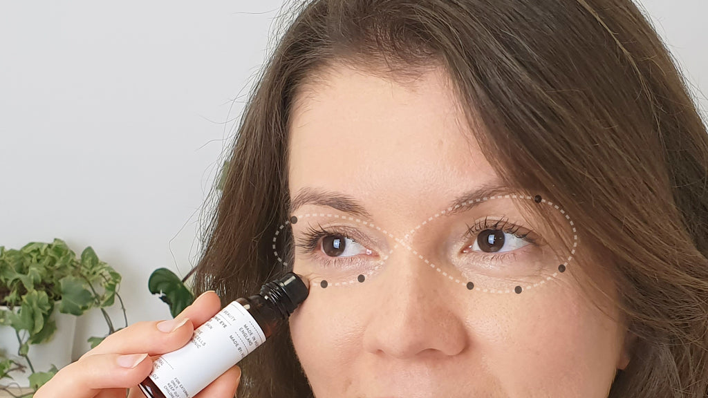 Hyaluronic Eye Complex Roller Tutorial Evolve Organic Beauty