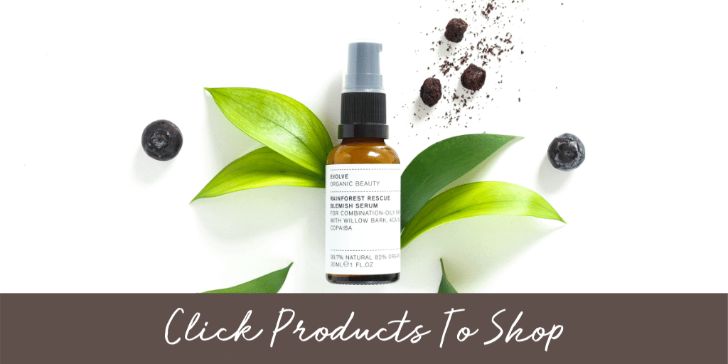 natural blemish serum