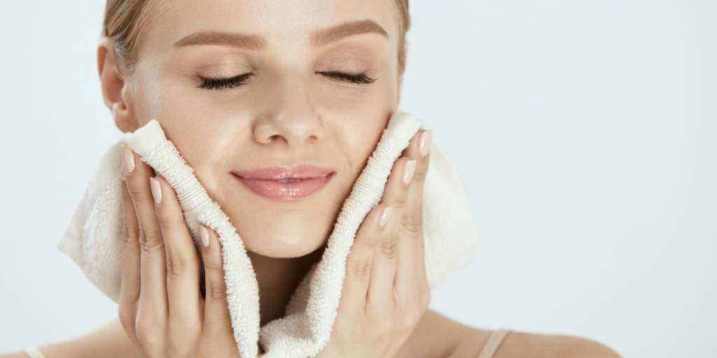 warm face towel