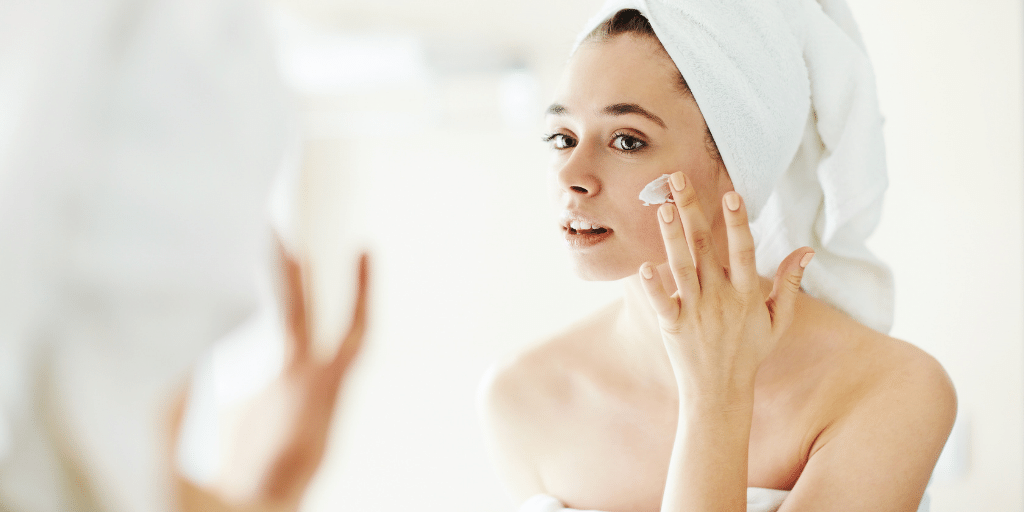 How to take care of your skin on your face and neck