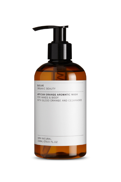 African Orange Hand and Body Wash Evolve Beauty