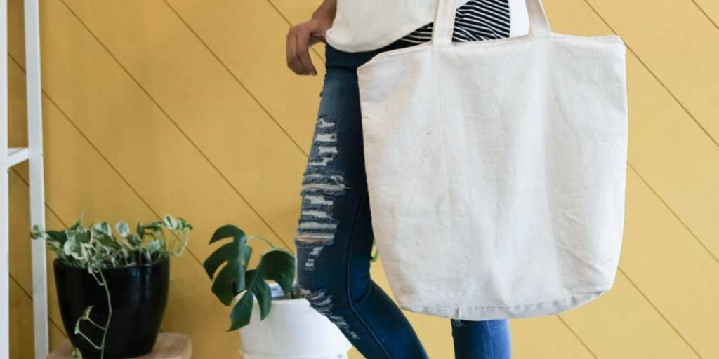 recyclable tote