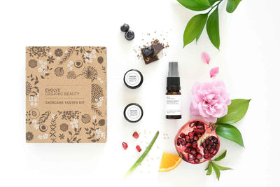 Evolve Beauty Products Organic Skincare Taster Kit (Giftset)