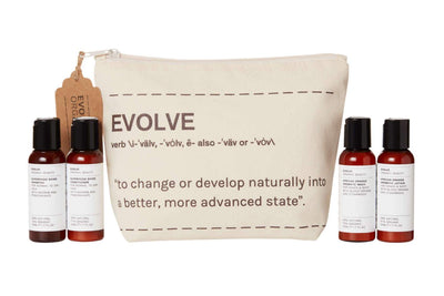 Evolve Beauty Shampoo Summer Travel Kit