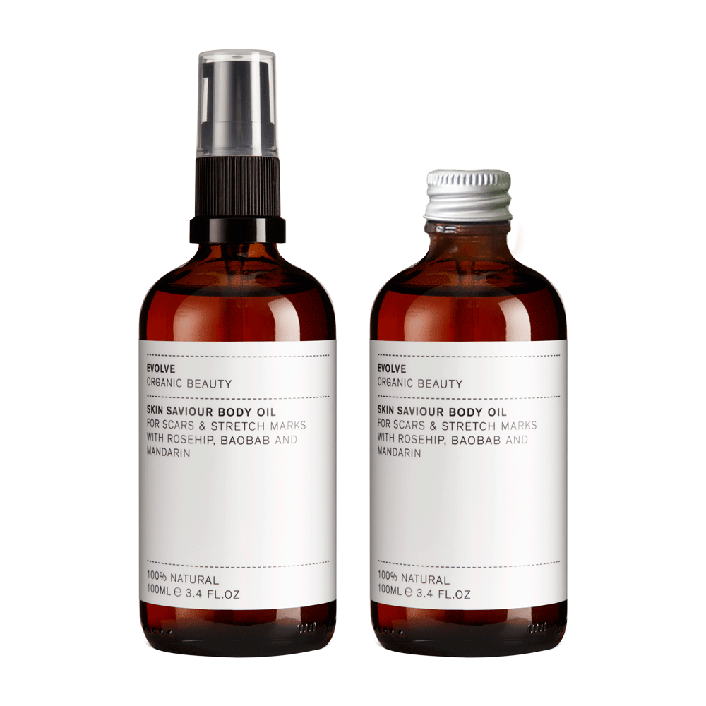 Evolve Bodycare Skin Saviour Body Oil Refill Duo