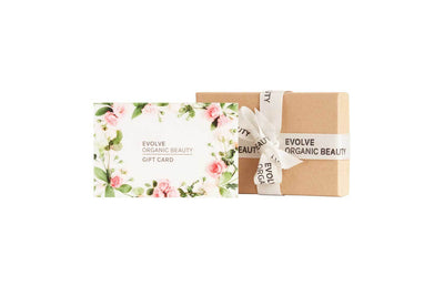 Evolve Organic Beauty Gift card - delivered by post