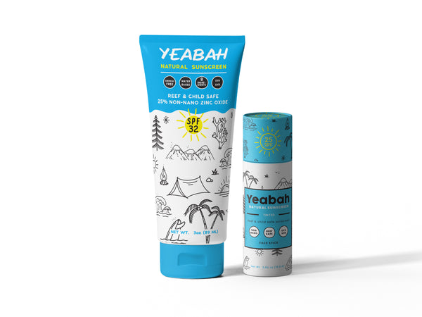 YeaBah All Natural Mineral Sunscreen