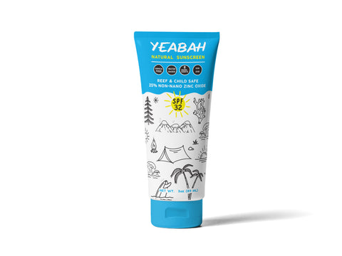 YeaBah Natural Mineral Sunscreen Lotion - SPF 32