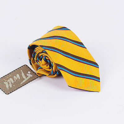 Men's Altea Gold Striped Tie