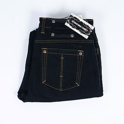 Men's International Laundry Black Bootleg Jeans