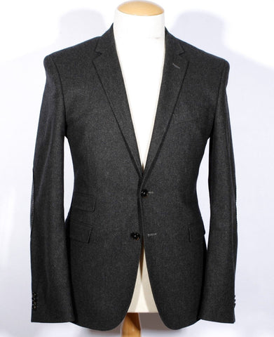 Men's Grey Hugo Boss Sportcoat Size 52 Reg IT 42 Reg US Ronney Model