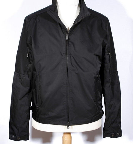 Men's Black Nylon RALPH LAUREN BLACK LABEL Jacket Size XL