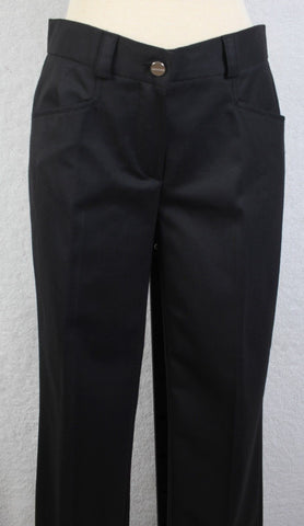NWT $385 Iceberg size 40 (US 4) Women's dress pants LOW RISE DESIGNER