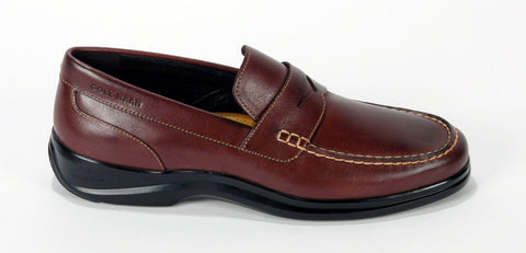 New Men's Cole Haan Brown Grand.OS Penny Loafer Size 8.5M Retail $130
