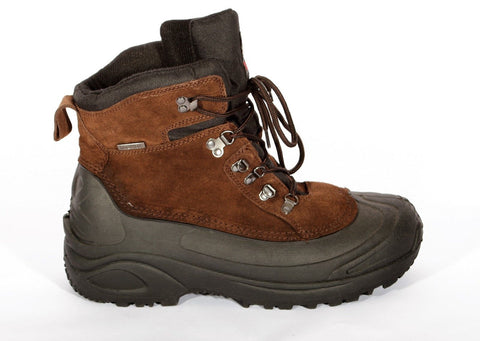 Men's ITASCA Brown Ice House Thermolite Winter Boots Size 14