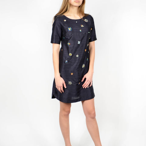 Women's Megan Park Silk Dress