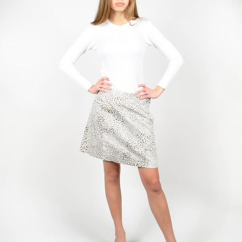 Women's Bobby Jones Leopard Golf Skirt