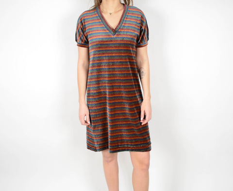 Jonathan Logan Striped Dress