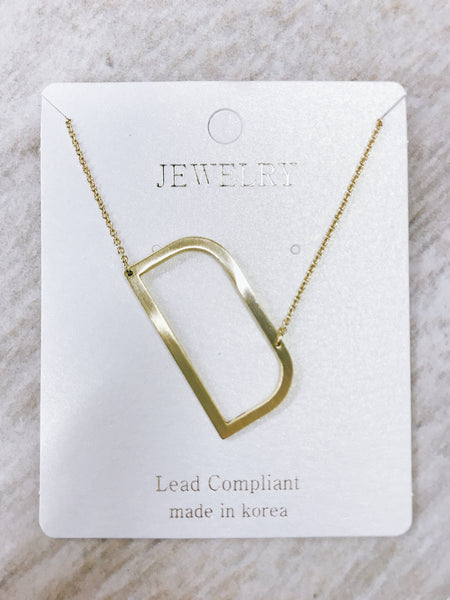 RESTOCK: Gold Initial Necklace