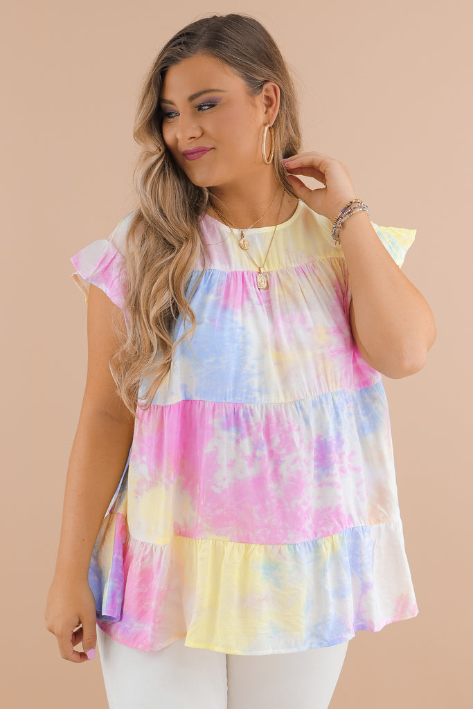 Starting Over With You Tie Dye Top