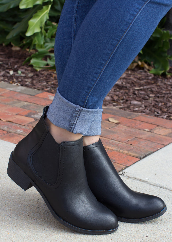 Effective Choices Ankle Bootie: Black