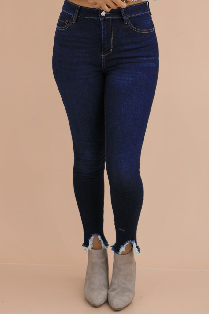 Double The Standards High Rise Crop Skinny
