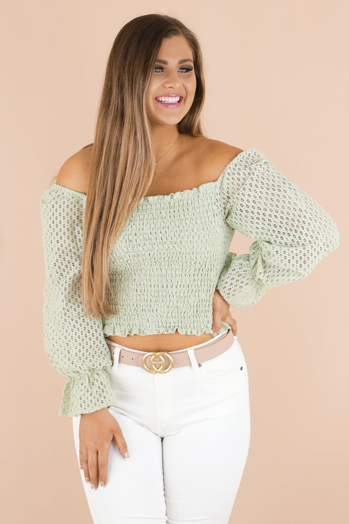Simple Yet Classy Smocked Top