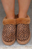 Taking These Home Faux Fur Slippers
