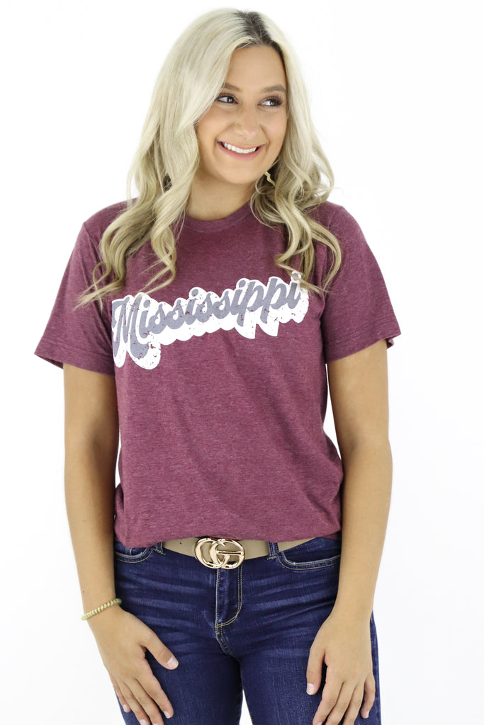 Groovy Mississippi Graphic Tee
