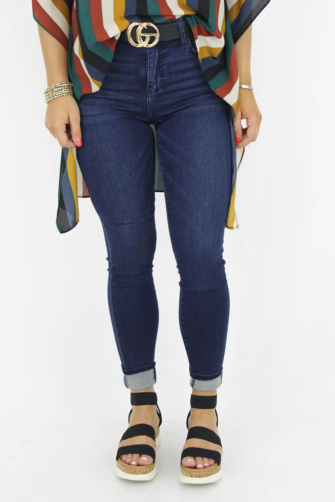 Perfect For Now Mid Rise Ankle Skinny