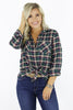 Great Feelings Flannel Top