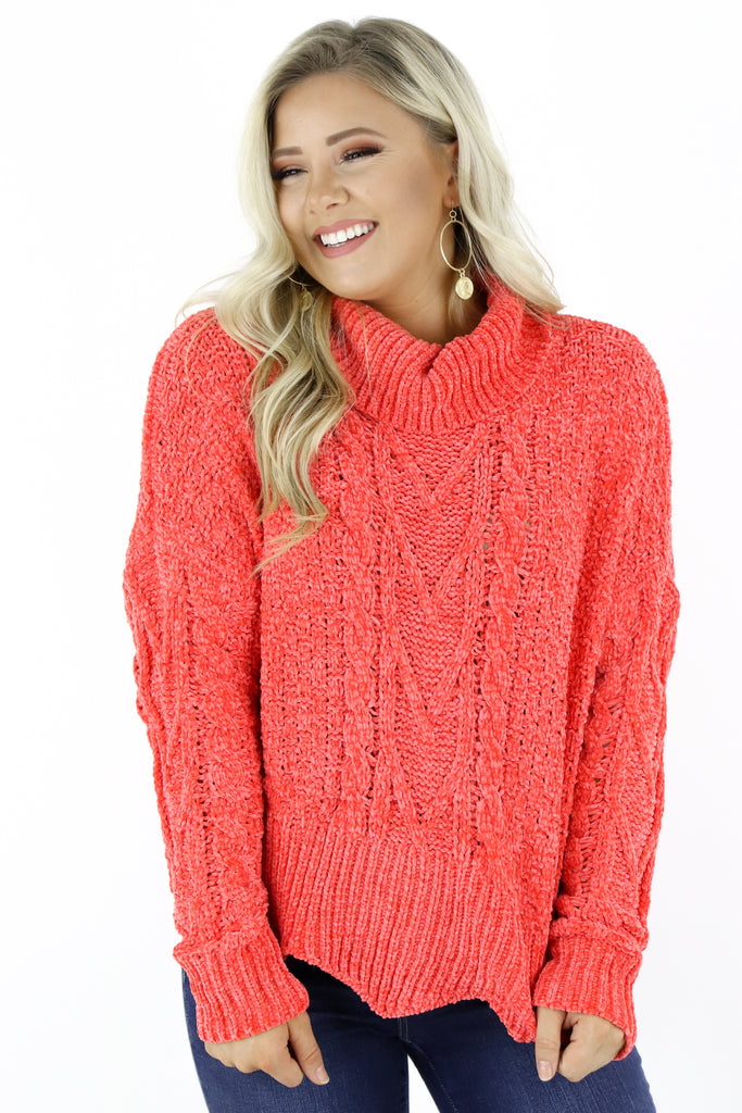 Full Of Excitement Chenille Sweater