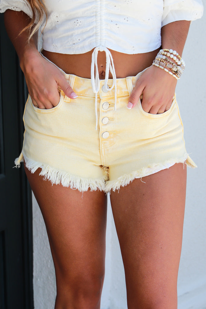 Long Summer Nights High Rise Shorts