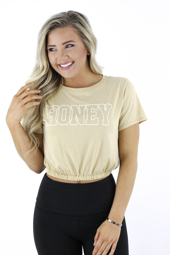 Honey Cropped Top