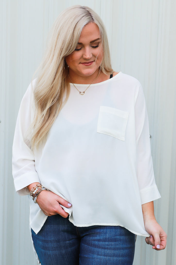CURVY: One More Wish Blouse