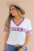RESTOCK: Tigers Sequin Game Day Top